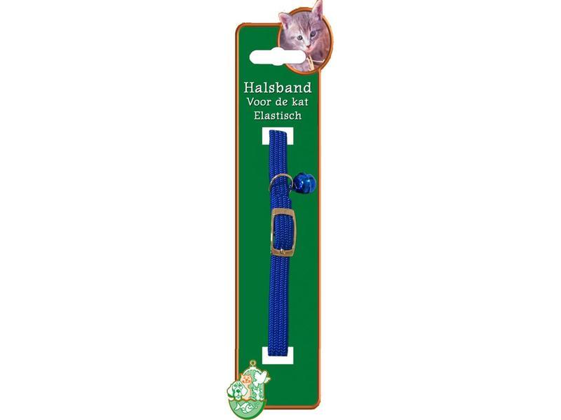 Elastische Halsband Kat Blauw