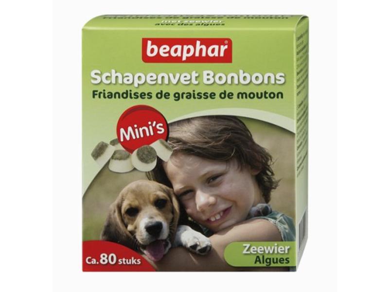 Beaphar Schapenvet Bonbons Zeewier Mini