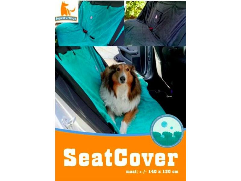 SuperFurDogs Seat Cover