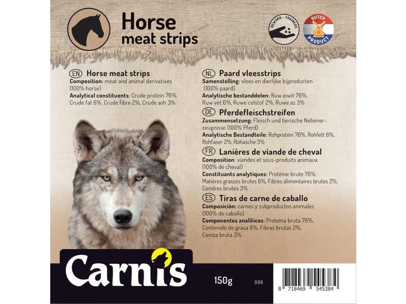 Paarden vleesstrips