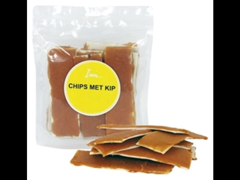 Chips met kip