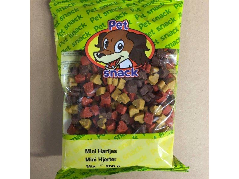 Pet Snack Mini Hartjes