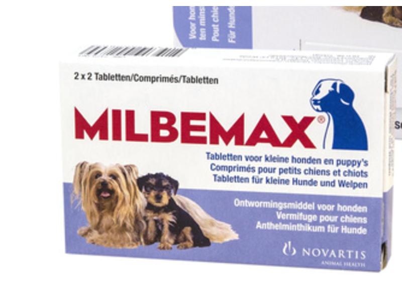 Milbemax Ontwormingsmiddel Kleine Honden en Puppy's