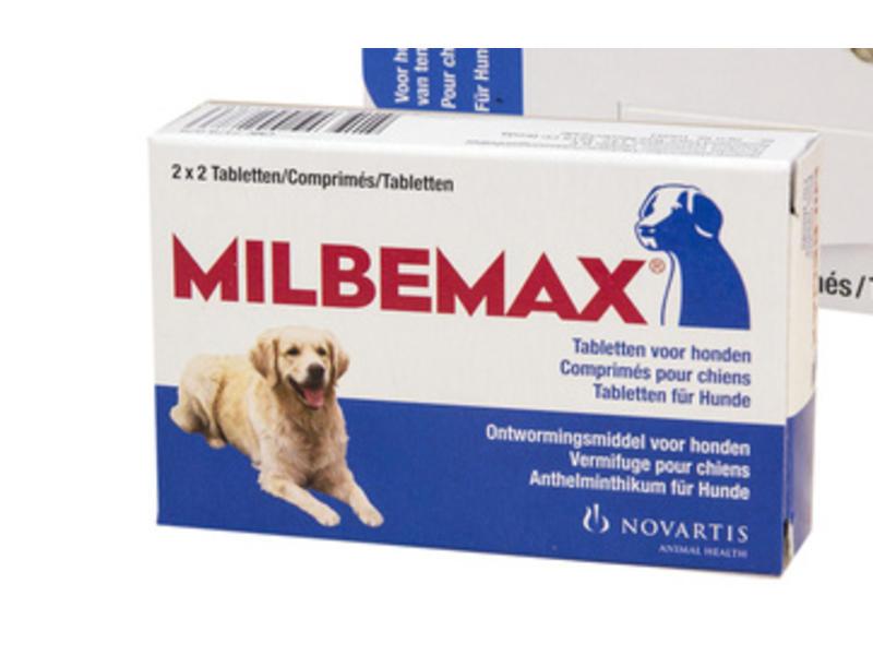 Milbemax Ontwormingsmiddel Grote Honden