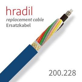 passend für IBAK Câble de remplacement Hradil adapté à ARGUS 1-3 d'IBAK