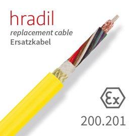 passend für IBAK Câble de remplacement Hradil adapté aux systèmes TV MIDI (KT / KW 180, KW 305) d'IBAK