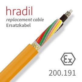 passend für IBAK Câble de remplacement Hradil adapté aux grands systèmes TV (ARGUS 4, SIRIUS) de IBAK