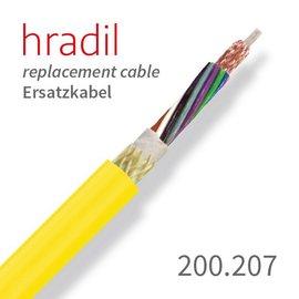passend für IBAK Câble de remplacement Hradil adapté aux systèmes à pousser (HSP, LISY) d'IBAK