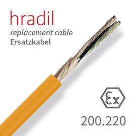 passend für iPEK Câble de remplacement Hradil adapté à SUPERVISION, ROVION de iPEK