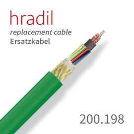 passend für JT-elektronik Câble de remplacement Hradil adapté au système de 200 m de JT-elektronik