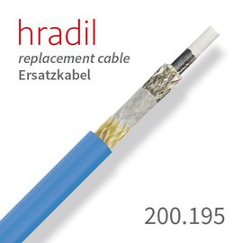 passend für RICO Hradil replacement cable suitable for single-wire-systems (∅ 6.5 mm) from RICO