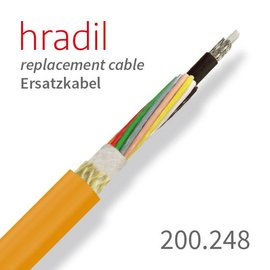 passend für IBAK Hradil replacement cable suitable for PANORAMO from IBAK