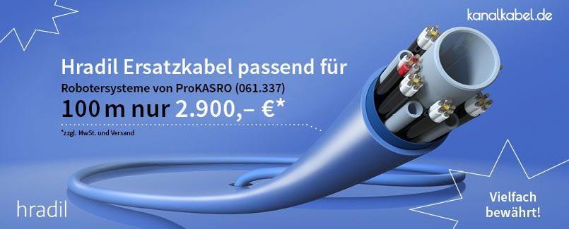 Hradil Ersatzkabel passend für Robotersysteme von ProKASRO