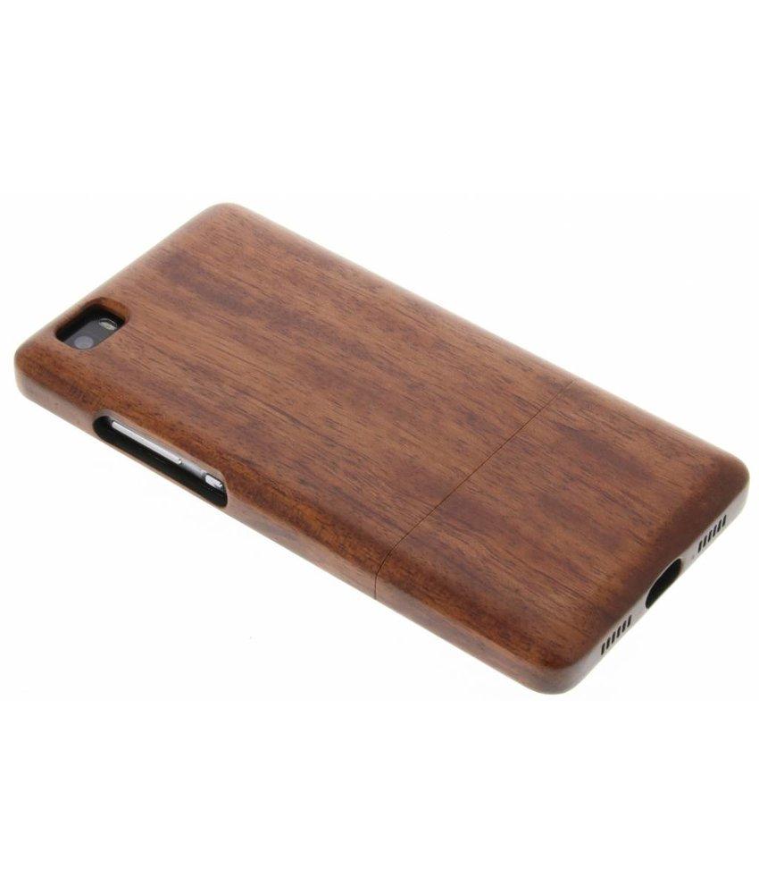 Echt Houten Backcover Huawei P8 Lite