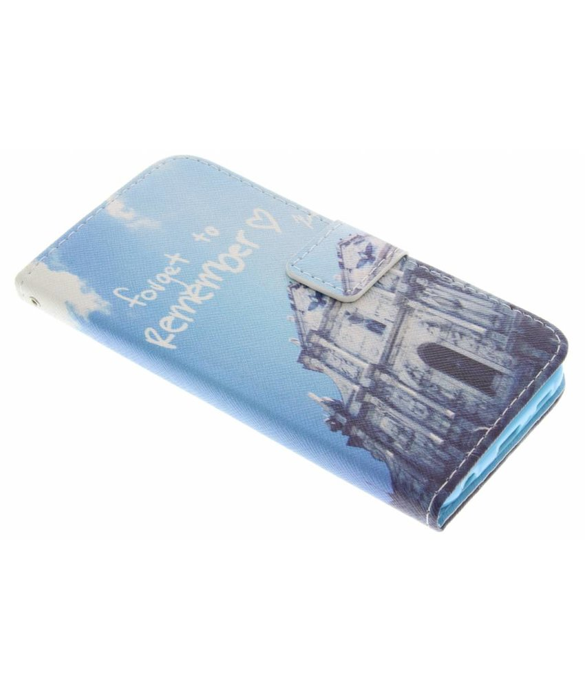Design Softcase Booktype Samsung Galaxy S6