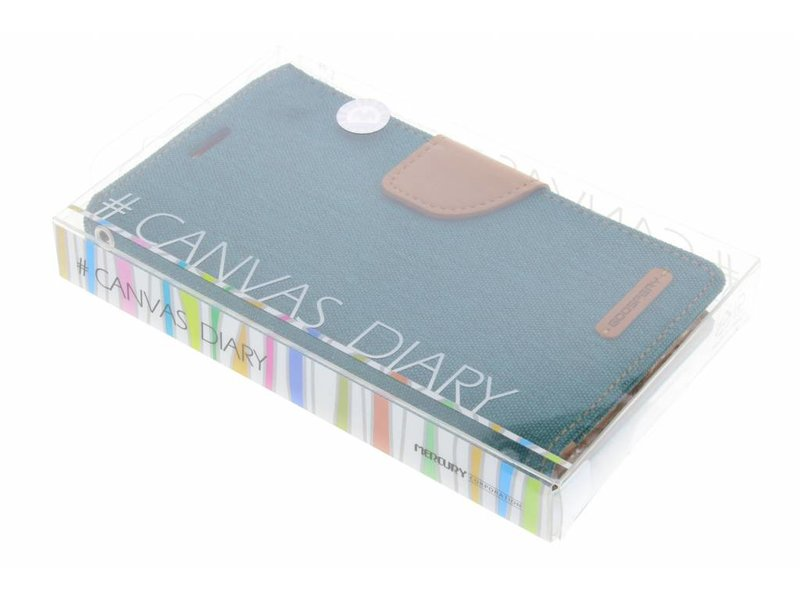 Samsung Galaxy S6 hoesje - Mercury Goospery Canvas Diary