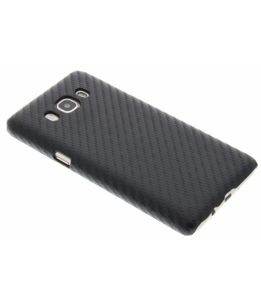 Carbon Hardcase Backcover Samsung Galaxy J5 (2016)
