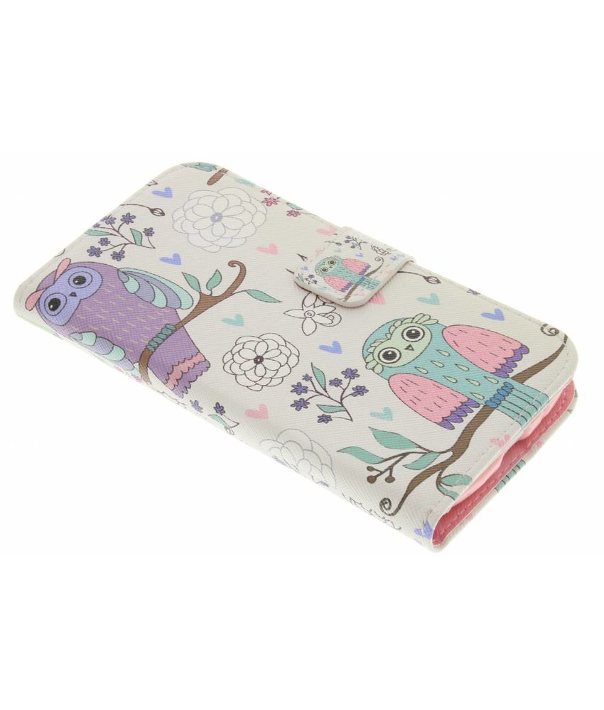 Design Softcase Booktype Samsung Galaxy S3 Mini