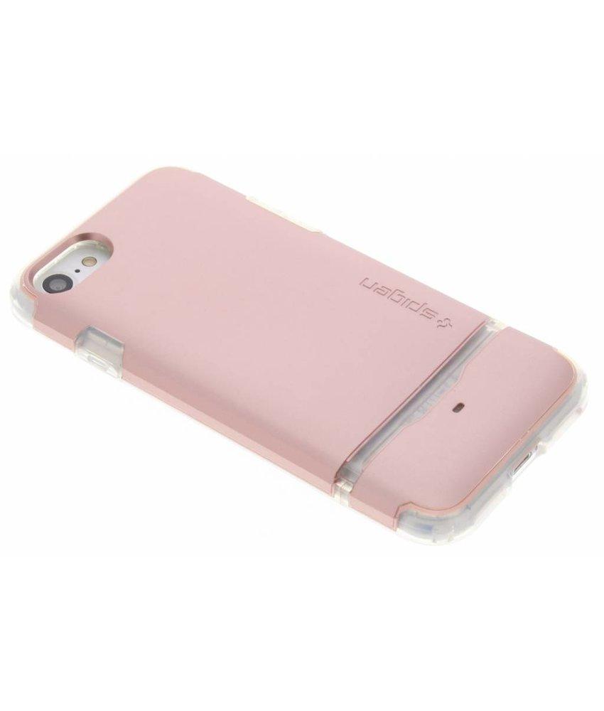 Spigen Rosé Goud Flip Armor Case iPhone 8 / 7