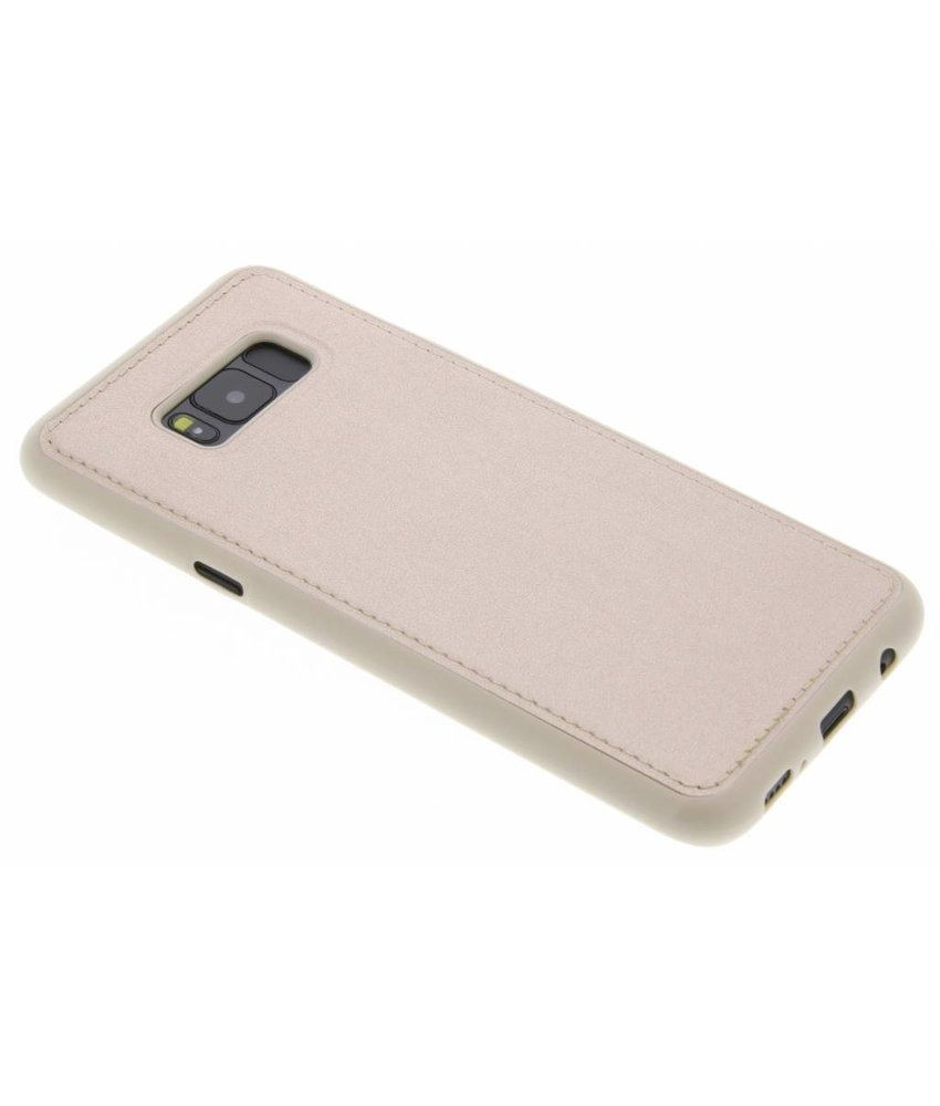 Lederen Backcover Samsung Galaxy S8 Plus
