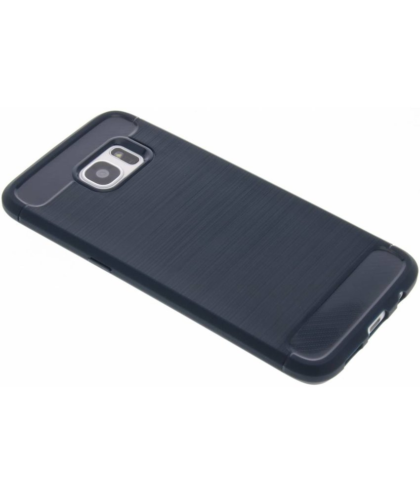 Brushed Backcover Samsung Galaxy S7 Edge