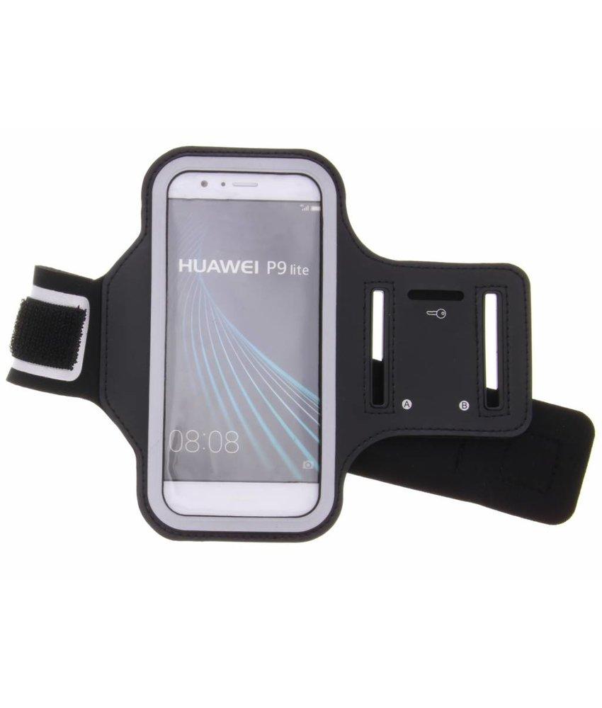 Zwart sportarmband Huawei P9 Lite
