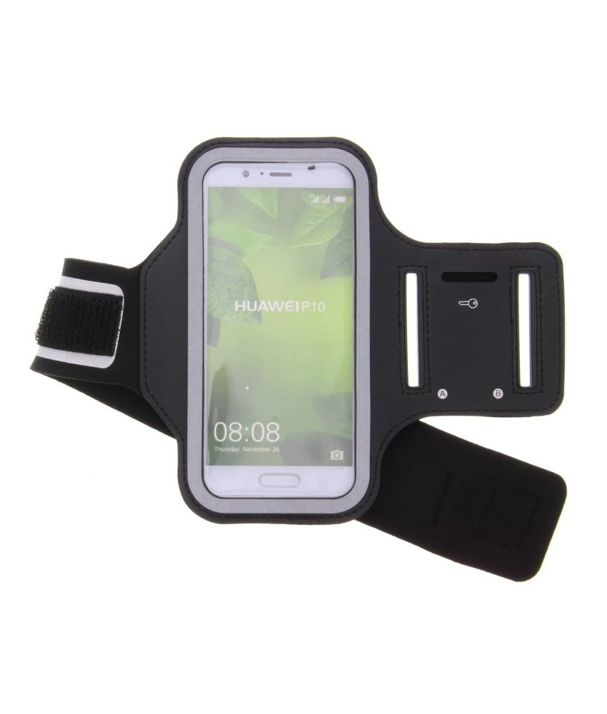 Zwart sportarmband Huawei P10