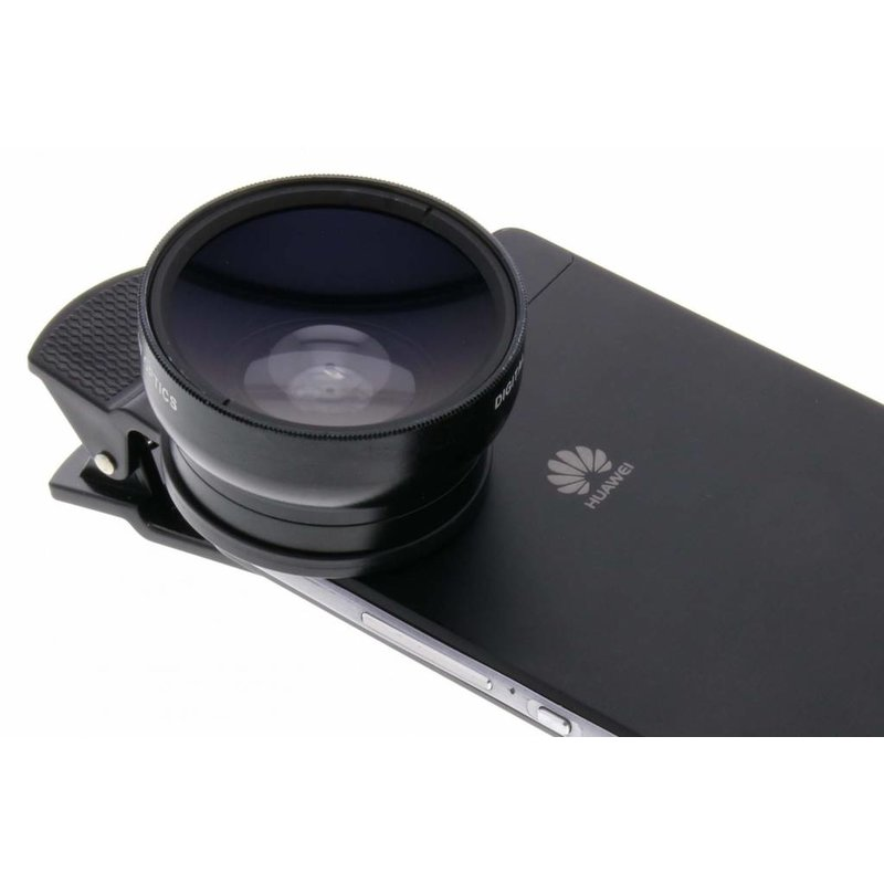 Universele 2 in 1 Clip Lens 0,45X