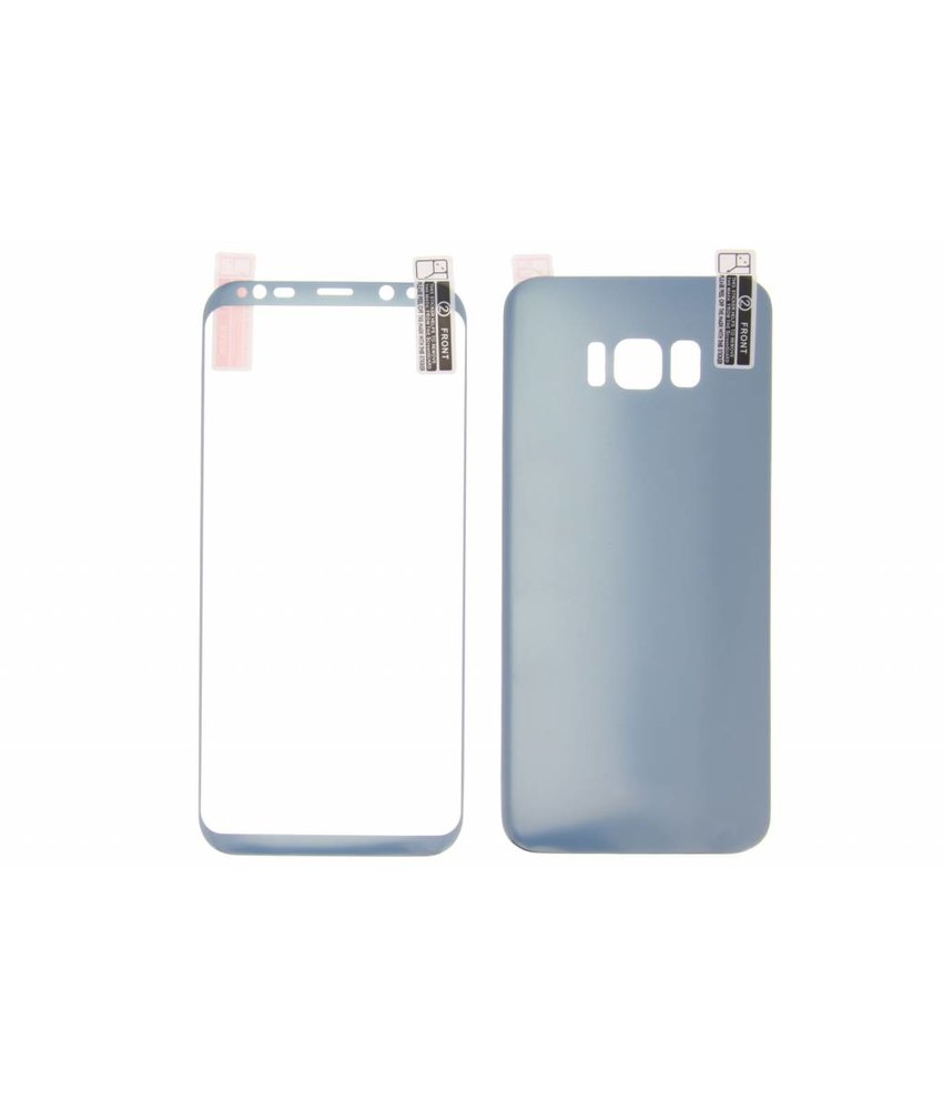 Front + Back Screenprotector Samsung Galaxy S8 Plus
