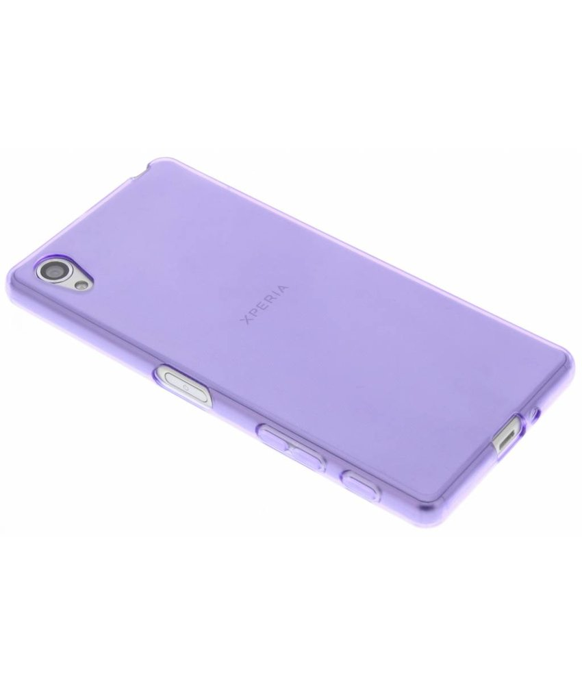 Softcase Backcover Sony Xperia X