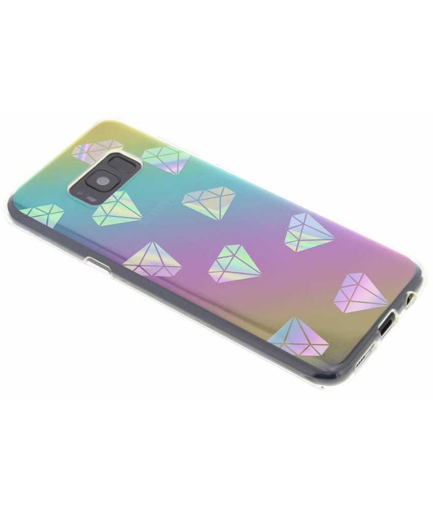 Holographic Design Backcover Samsung Galaxy S8 Plus