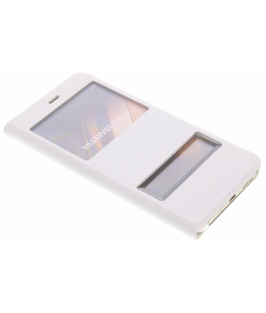 Slim Booktype met venster Huawei P10 Lite