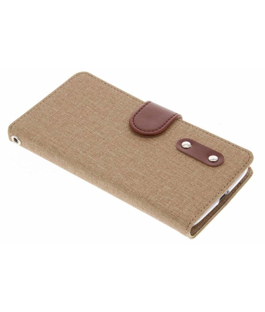 Linnen Booktype Motorola Moto G4 Play