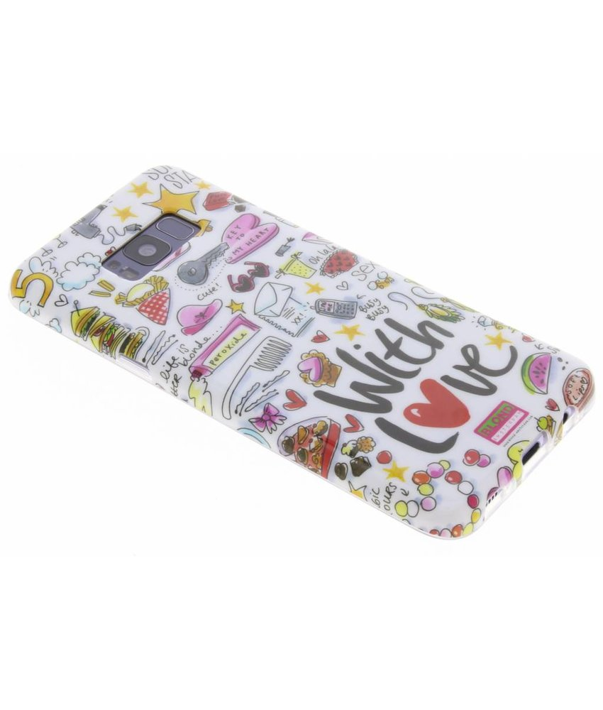 Blond Amsterdam Design Backcover Samsung Galaxy S8 Plus