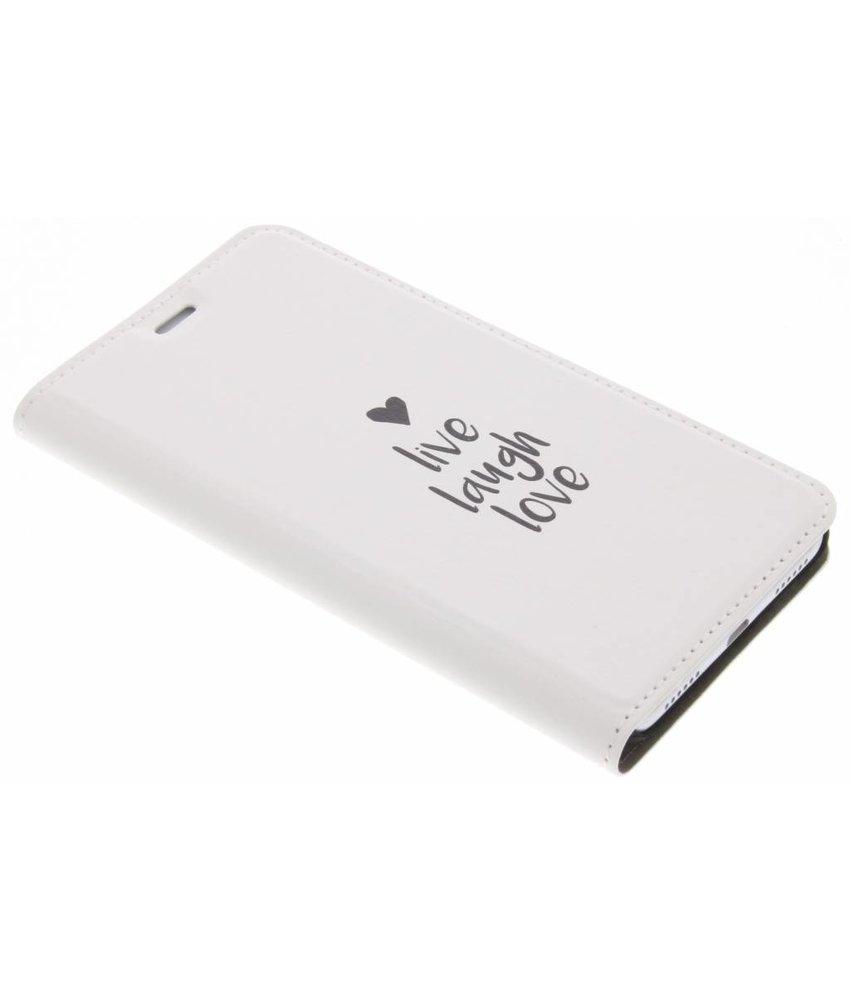 Design Hardcase Booktype Huawei P8 Lite (2017)