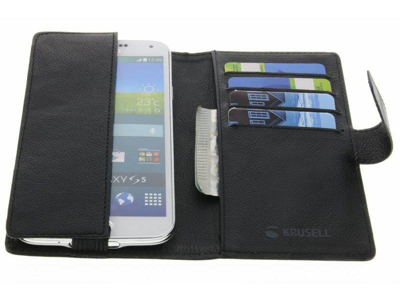 Samsung Galaxy S7 hoesje - Krusell Zwarte Vargön Universal