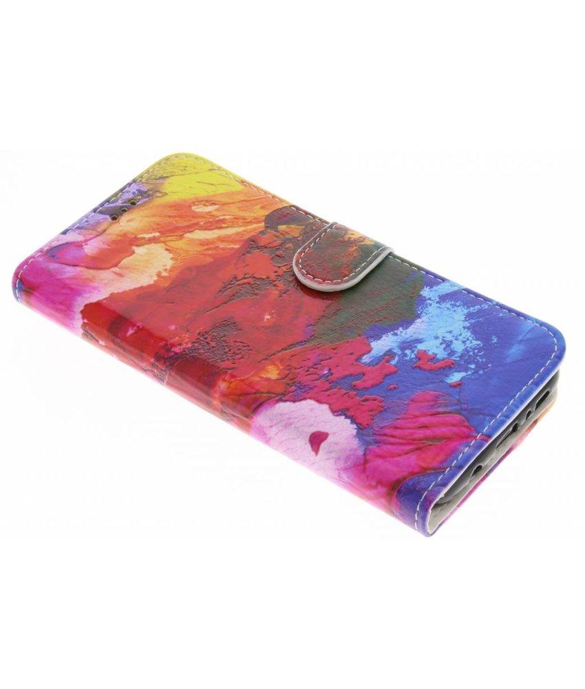 Design Softcase Booktype Samsung Galaxy S8 Plus