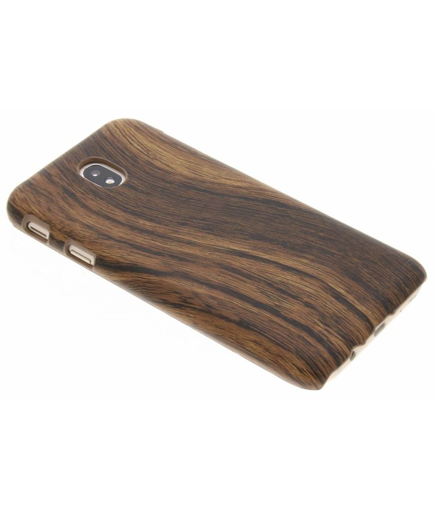 Hout Design Backcover Samsung Galaxy J7 (2017)