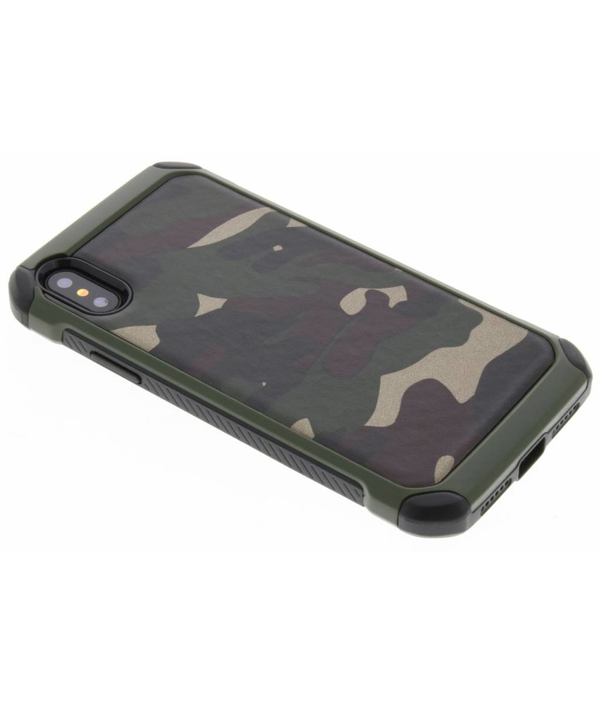 Army Defender Backcover iPhone X / Xs