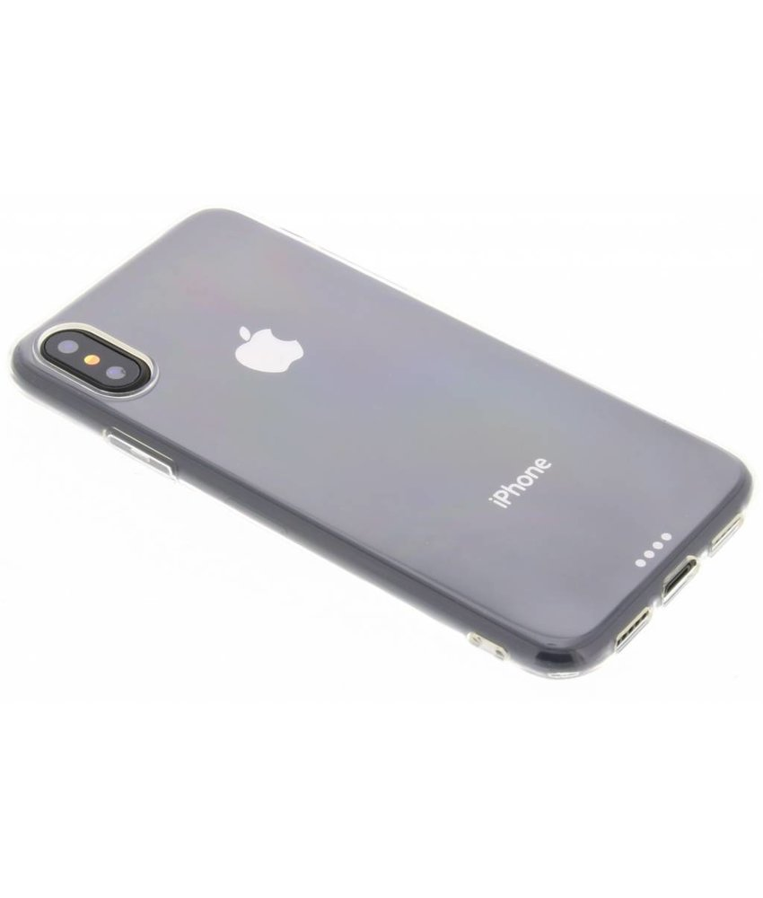 Ultra Thin Transparant Backcover iPhone X / Xs
