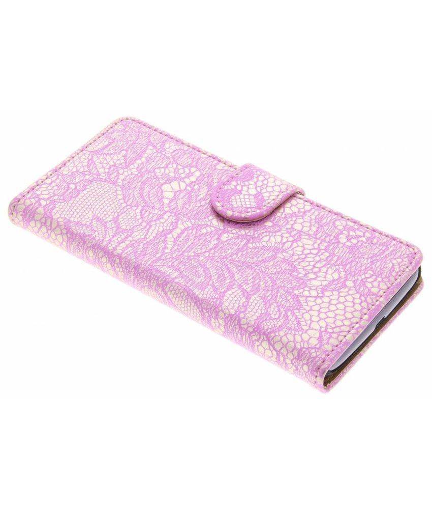Roze Glamour Design booktype Motorola Moto G4 Play
