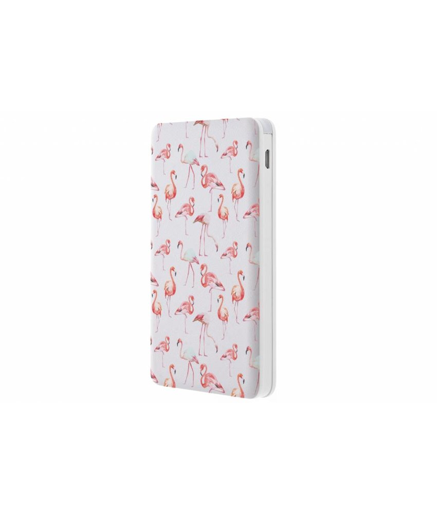Flamingo design Powerbank - 5000 mAh