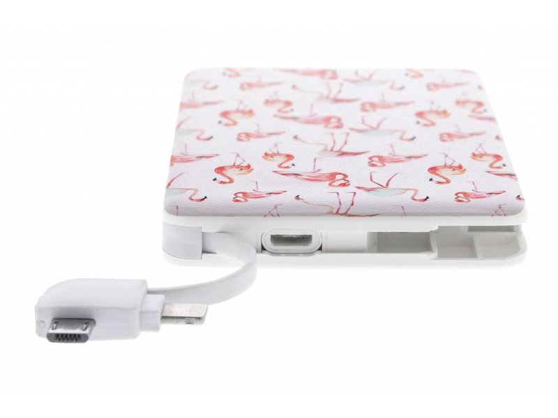 Flamingo design Powerbank - 5000 mAh