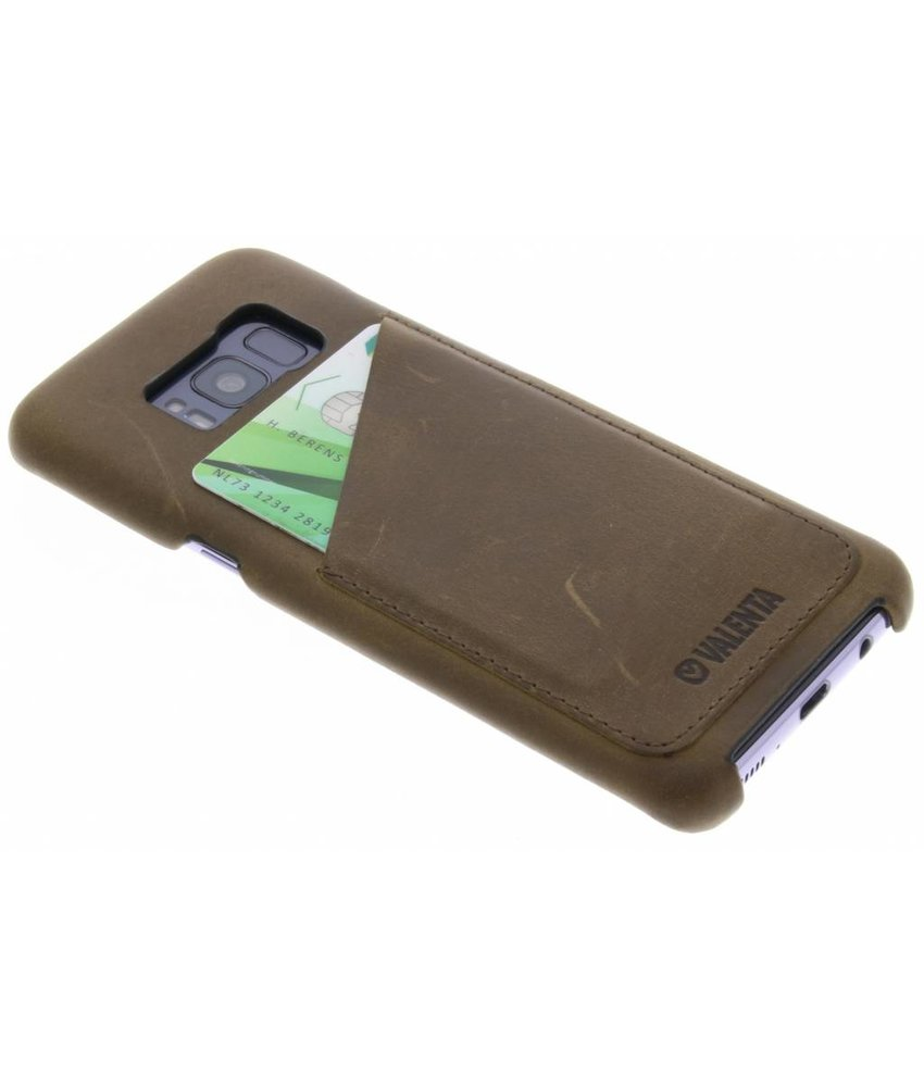 Valenta Classic Luxe Backcover Samsung Galaxy S8