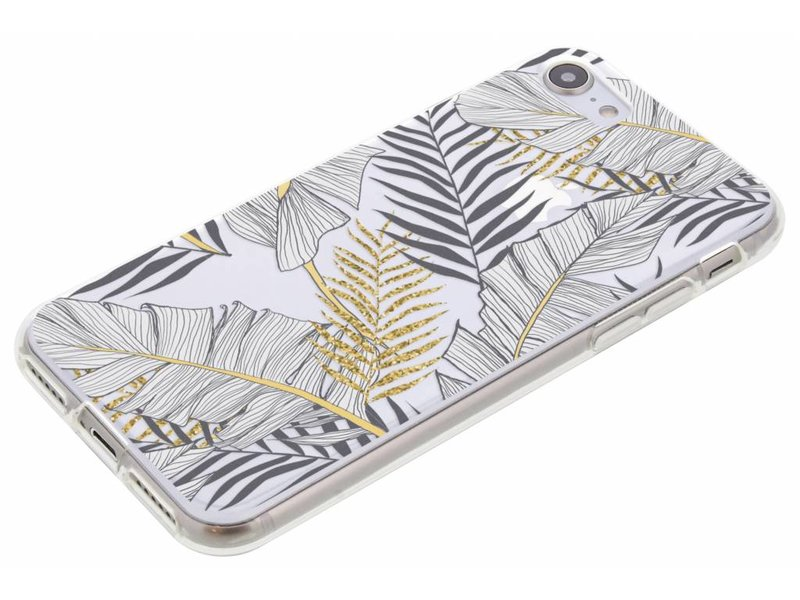 Design Backcover voor iPhone 8 / 7 - Glamour Botanic