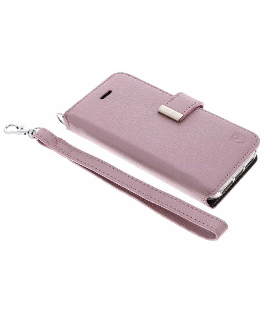 Valenta Premium Handstrap Booktype iPhone SE / 5 / 5s