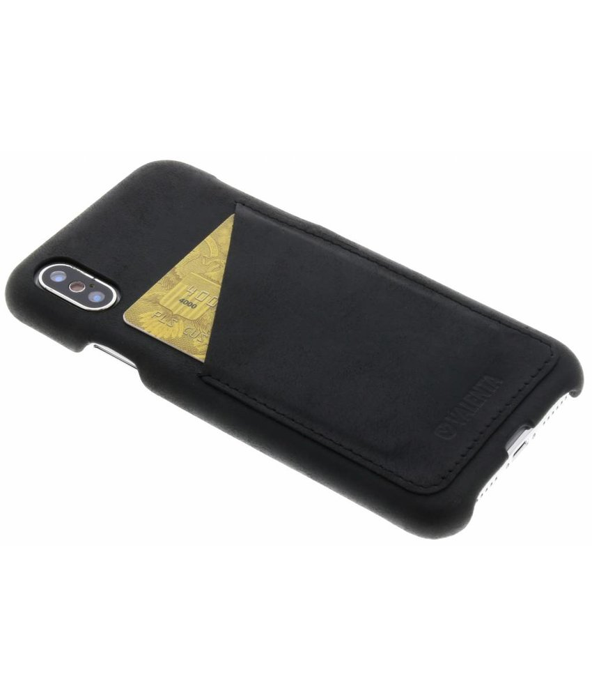 Valenta Classic Luxe Backcover iPhone X / Xs