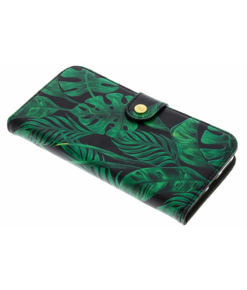 Fabienne Chapot Monstera Leafs Booklet iPhone Xs / X