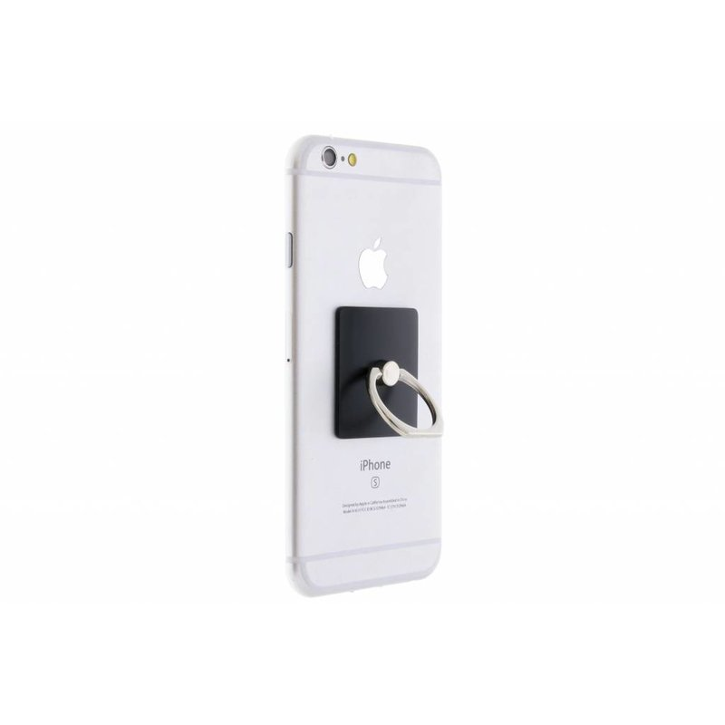 Zwart mobile phone ring stand universeel