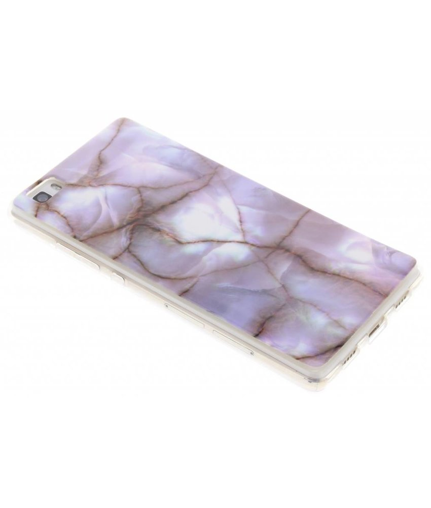 Marmer Softcase Backcover Huawei P8 Lite